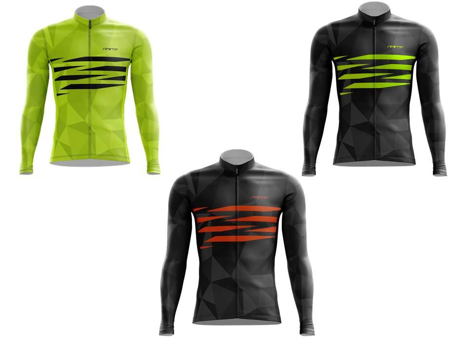 lindo baratas más baratas diversificado en envases Camiseta Ciclismo Manga Larga GW MTB